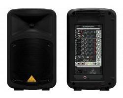 Звуко-усилительный комплект BEHRINGER EPS500MP3 500 Вт,8-кан.микшер-усилит.,MP3-плейер