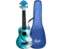 Укулеле (гавайская гитара) FLIGHT TUS25 SURF Travel сопрано