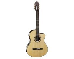 Гитара CORT AC160CF-NAT классическая со звукоснимателем, с вырезом