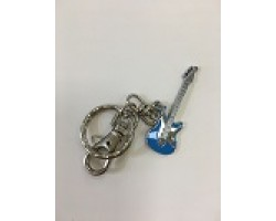 Брелок BASS FENDER для ключей 5 см металл+эмаль 3743