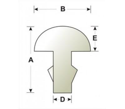 Лады SINTOMS 249119SEH 2.5EH ширина 2,5 мм для гитары нейзильберовые особо твердые