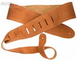 Ремень гитарный D'ANDREA CS200 замша, цвет светлый коричневый