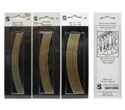 Ладовая пластина SINTOMS 230140S 2.3мм 260мм из нейзельбера