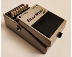 Педаль BOSS GE7 гитарная, графический 7-ми полосный эквалайзер(комиссионный товар)