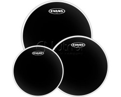 "Набор пластиков Evans ETP-CHR-R Black Chrome Rock 10""/12""/16"","