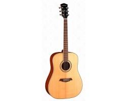 Гитара PARKWOOD S61 акустическая, глянцевая, с чехлом