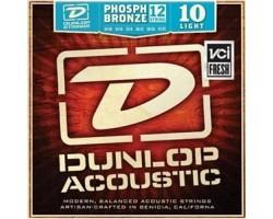 Струны DUNLOP DAP1047 10-47 фосфор/бронза для 12-струнной акустической гитары