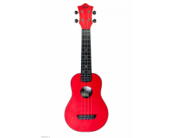 Укулеле (гавайская гитара) FLIGHT TUS35 RD Travel сопрано