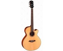 Гитара PARKWOOD S27GT электро -акустическая, с чехлом