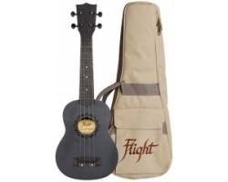 Укулеле (гавайская гитара) FLIGHT NUS310 BLACKBIRD сопрано, с чехлом