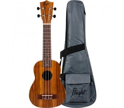 Укулеле (гавайская гитара) FLIGHT NUS200 NA сопрано
