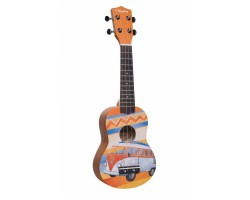 Укулеле (гавайская гитара) VESTON KUS25 BUS сопрано