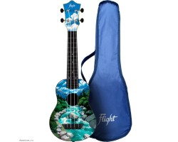 Укулеле (гавайская гитара) FLIGHT TUS30 SLO Travel сопрано
