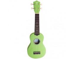Укулеле (гавайская гитара) LISTEN LIS100GREEN сопрано