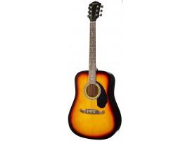 Гитара FENDER FA125 Sunburst акустическая, с чехлом