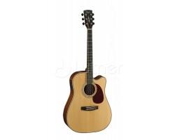 Гитара CORT MR710F-NS электроакустическая, цвет натуральный матовый