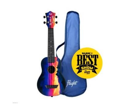 Укулеле (гавайская гитара) FLIGHT TUS EE Sunset Travel сопрано