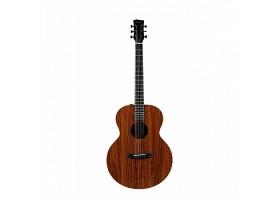Гитара ENYA EM-X1+ акустическая (в комплекте: чехол, ремень, тюнер, каподастр)