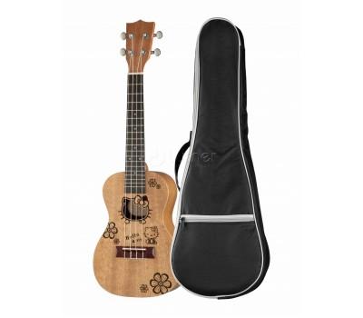 Укулеле (гавайская гитара) CARAYA UK23-1H концерт