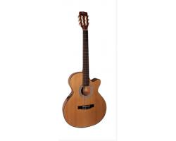 Гитара CORT CEC1-OP Classic Series электро-акустическая классическая гитара , с вырезом, цвет натуральный