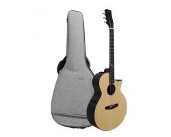 Гитара ENYA EA-X2 PRO электро-акустическая (в комплекте: чехол, каподастр, ремень, тюнер, провод, зарядка для аккумулятора)