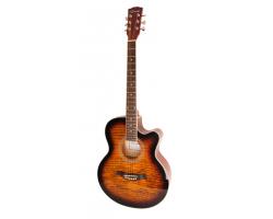 Гитара CARAYA F511BS акустическая с вырезом