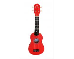 Укулеле (гавайская гитара) LISTEN LIS100RED сопрано