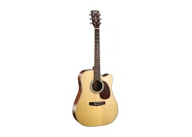 Гитара CORT MR600F-NS электроакустическая, цвет натуральный матовый