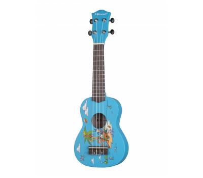 Укулеле (гавайская гитара) MIRRA UK300-21YD с рисунком Cartoon сопрано