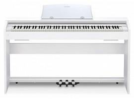 Пианино CASIO Privia PX770WE цифровое, цвет белый
