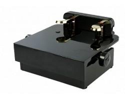 Подставка для пианиста RIN HY-PJ017 с двумя дублирующими педалями с регулировкой высоты 130-190, цвет черный,