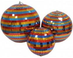 Зеркальный шар INVOLIGHT MBС24 60 см цветной без мотора