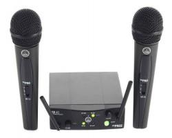 Радиосистема AKG WMS40 Mini2 Vocal Set Band вокальная с 2 ручными микрофонами капсюль D88