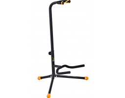 Стойка ORTEGA OGS1BK гитарная, цвет черный/оранжевый