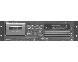 CD-проигрыватель+дека кас.TASCAM CD-A630