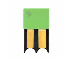 Футляр RICO DRGRD4TBGR Reed Guard для тростей большой, цвет зеленый