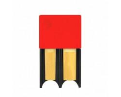 Футляр RICO DRGRD4TBRD Reed Guard для тростей большой, цвет красный