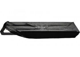 Накидка AURORA AU-NDP88BK для цифровых пианино Yamaha, Casio, Roland,, бархатная, цвет черный