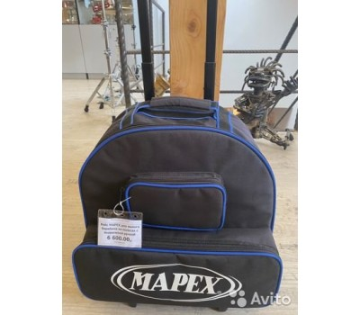 Кейс MAPEX для малого барабана на колесах с выдвижной ручкой