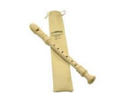 Блок-флейта YAMAHA YRS23 in C сопрано немецкая система, цвет белый