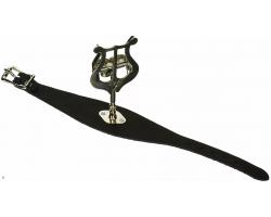 Держатель нот(лира) APM 510N для крепления на флейту, кожанный ремешок на руку