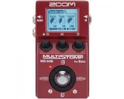 Педаль ZOOM MS60B эффектов, мульти для бас-гитары