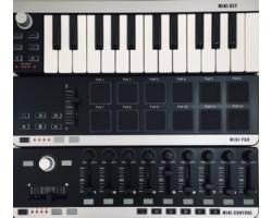 Комплект для домашней студии WORLDE Pad+Control+Key