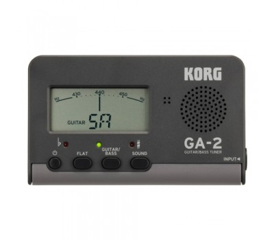 Тюнер KORG GA2 цифровой для гитары/бас-гитары