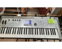 Клавишный инструмент YAMAHA MM6 в комлекте блок питания, софт, коробка (комиссионный товар)