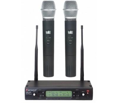 Радиосистема KARSECT KRU482/KST-7U двухантенная UHF 2 ручных микрофона