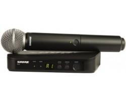 Радиосистема SHURE BLX24E/SM58 M17 вокальная с передатчиком SM58