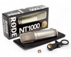 Микрофон RODE NT1000 студийный конденсаторный с большой диафрагмой