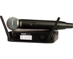 Радиосистема SHURE GLXD24E/SM58 Z2 2.4 GHz цифровая вокальная радиосистема