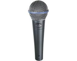 Микрофон SHURE Beta 58А вокальный динамический суперкардиоидный